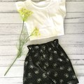 Paperbag Waist Shorts    CATS   Sizes 2, 4
