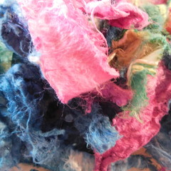 Shredded Silk Rods ~  Color way  Thistle 20g