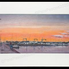 9. Brighton Orange Sunset