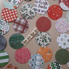 Got the Sack: Paper Christmas Garland