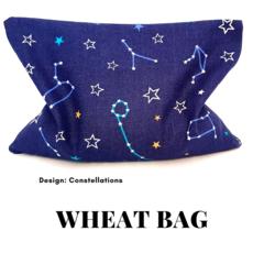 KIKIME Wheat Bags - Design: Constellations