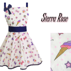 Ice Cream & Cupcake Women's Apron - FREE POST!