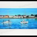 13. 2 Boats Brighton PRINT