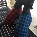 Dog Coats Size L  Jumper Coat Flannelette and Fleece & Double Fleece