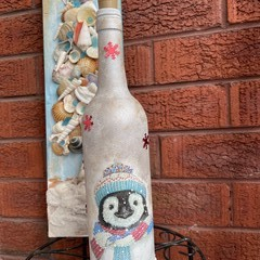 Christmas gift/ Christmas decoration Light up bottle