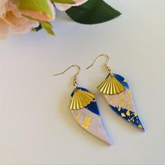 Earrings: Colourful water drop