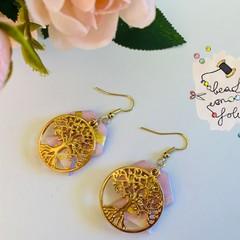 Earrings: The tree of life