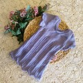 hand knitted toddler dress