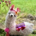 Llama Cushion Handmade Llama Pillow