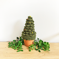 Dark Green Crochet Christmas Tree