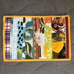 Patchwork Placemat - Summer Garden