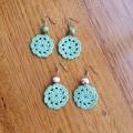 Crochet Earrings - Flower Pattern