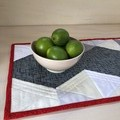 Patchwork Table Runner - Fire & Ice
