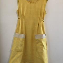 Gold dress size 10