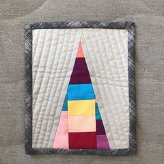 Mini Quilt - Mountain