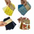 Unpaper Towel with snaps Premium Reusable Paper Towels | Sustainable 1 or 2 Ply