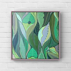 FOREST WALK Original painting by Australian Artist