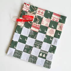 Reusable Christmas Gift Bag - Medium