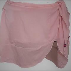 Flair Summer Beach Wear Wrap Skirt Sarong Pink XL