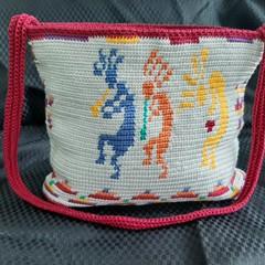 Crochet bag, Handbag, Hippy, boho, Mochila,  Wayuu