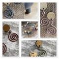 Swirl  - Earrings