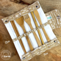 Reusable Bamboo Cutlery Set | Zero Waste Utensil Kit | Eco-Friendly