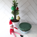 CHRISTMAS Reusable Bowl Covers