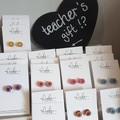 Coloured Pencil Stud Earrings, Teacher Appreciation Gift (2 for 1)