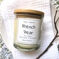 Highly Scented Soy Candle - French Pear | Home Fragrance | Spice Scent