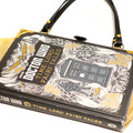 Dr Who Time Lord Fairy Tales Novel Bag  - Upcycled book - Bag made from a book