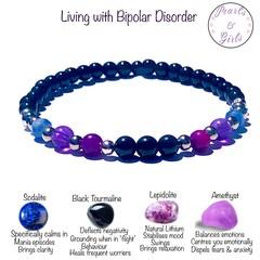 Bipolar support bracelet