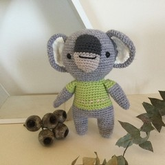 Logan Koala  -  crocheted, knitted, softies