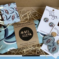 Earring and Eye Pillow Gift Set