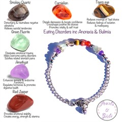 Eating disorders, Anorexia & Bulimia Nervosa support bracelet.