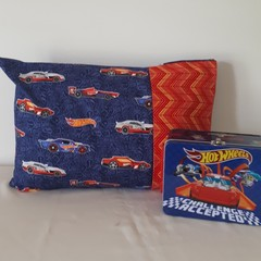 TODDLER/JUNIOR PILLOWCASE - HOT WHEELS