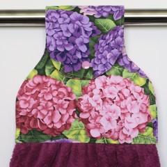 Hydrangeas Designer Hand Towel