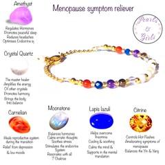 The Menopause symptom pause bracelet