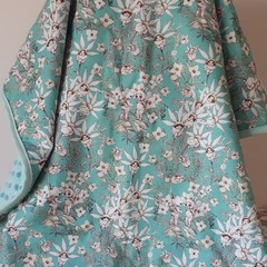 MAY GIBBS MINT FLANNEL FAIRIES  MINKY PRAM BLANKET