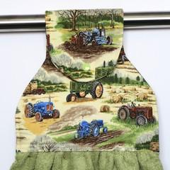 Tractors Designer Hand Towel