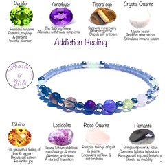 Addiction Recovery Support bracelet