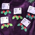 Christmas / Holly Hoops