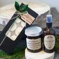 Christmas / Gift pack / Soy candle / Tea light / Room spray