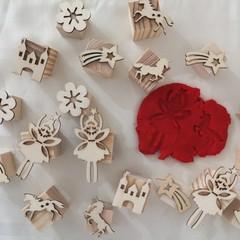 Timber Playdough Stamp Set Fairy Princess Set