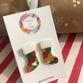 Santa Stockings in Camo