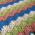 Handmade Crochet | 6 Day Kid Blanket | Gender Neutral Baby Blanket