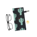GLASSES CASE | SUNGLASSES Case - Cactus Rain