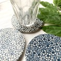Beautiful Blue and White Porcelain Coasters