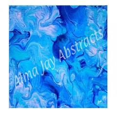 Oceanic Maze Digital Print