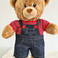 Build a Bear  Tshirt and Overalls