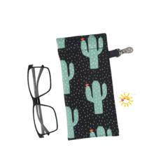 GLASSES CASE | SUNGLASSES Case - Cactus Rain